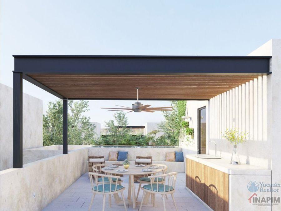 towhouses en venta con roofgarden