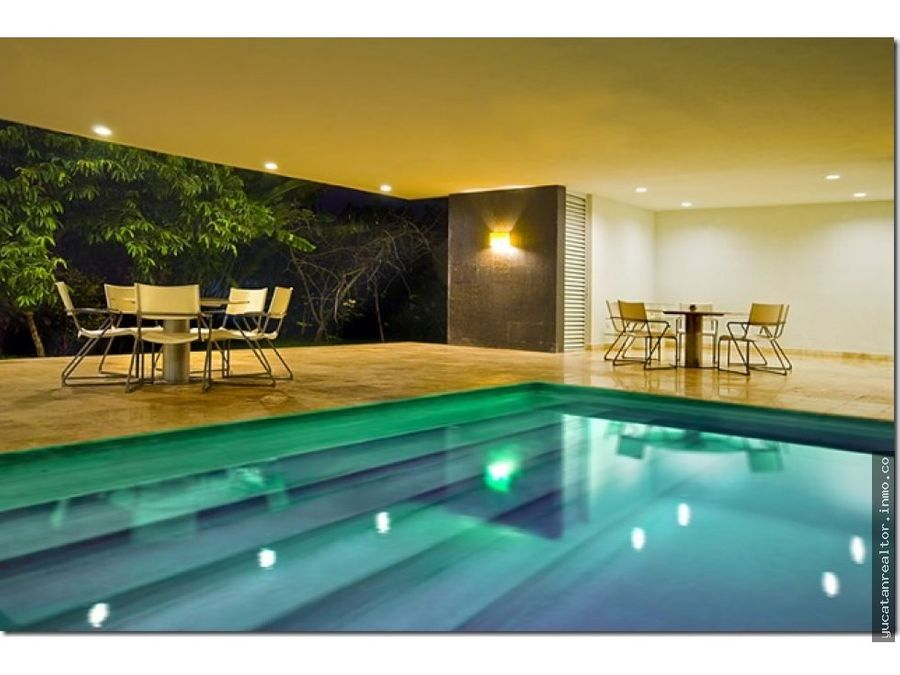for sale luxurious residence in merida casa heliconia