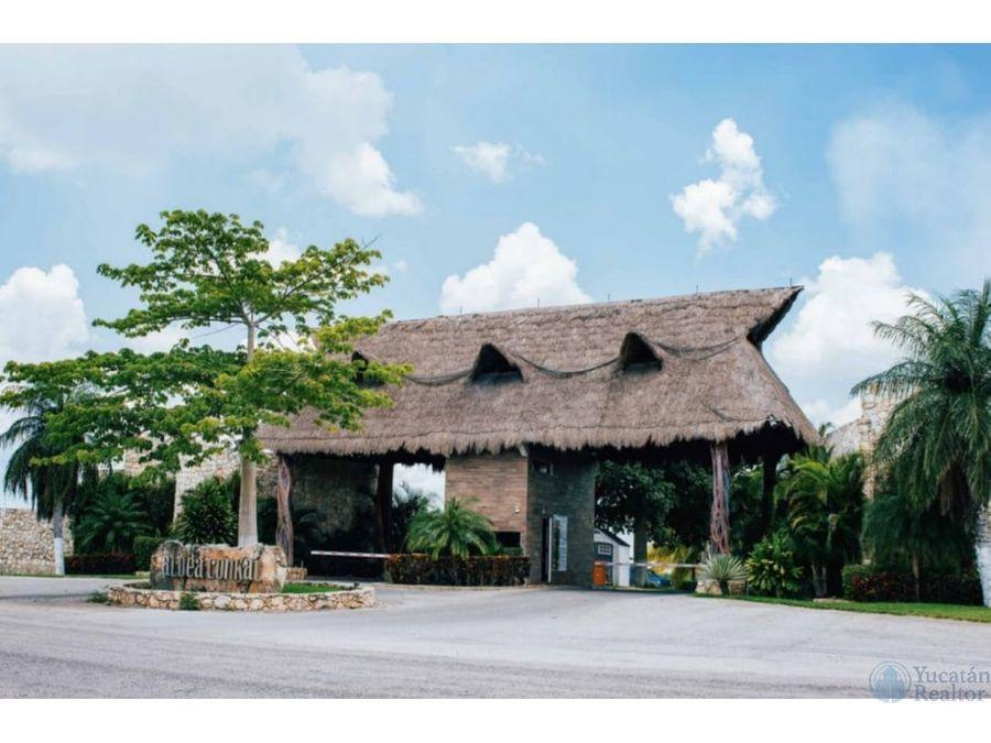 venta de casa en aldea conkalamplio terreno