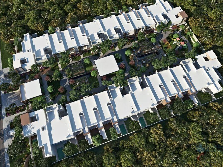 magnificas casas en temozon village