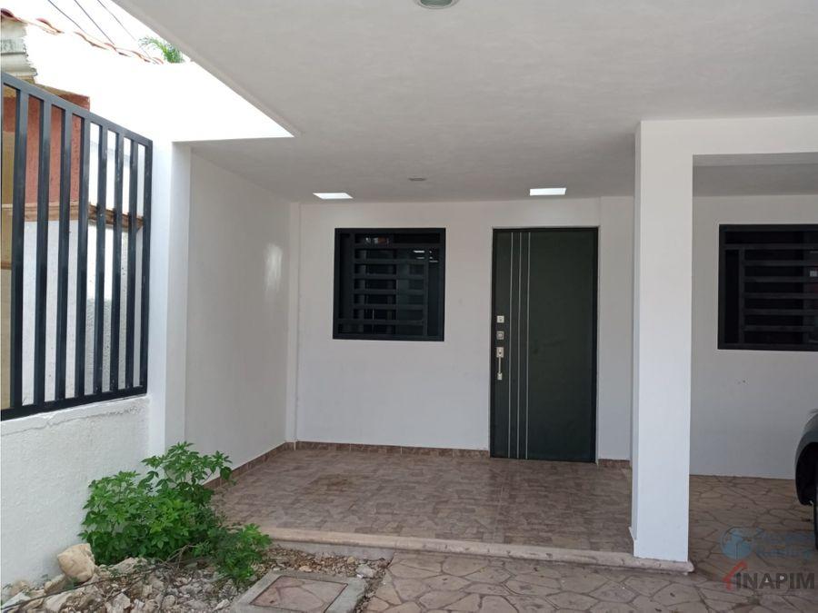 renta de casa en merida en privada