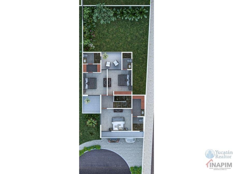 venta casa en merida al norte de la ciudad en excelente zona savara