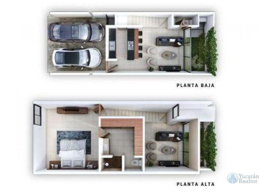 hermoso townhouse en privada maculi modelo 3