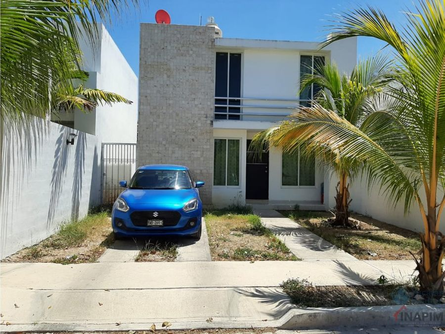 casa en venta en caucel de dos plantas