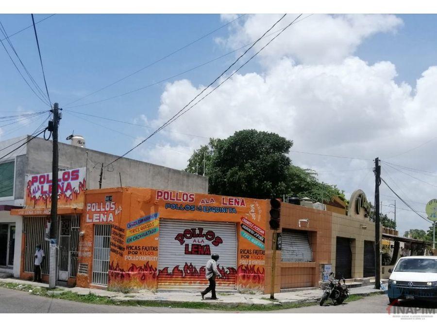 venta de local comercial en zona centro merida