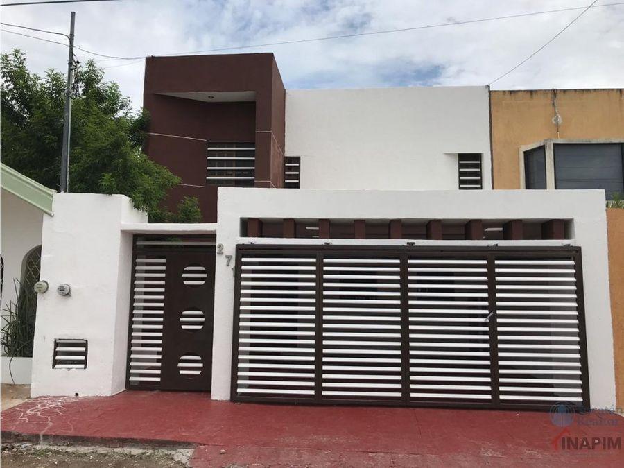 venta de amplia casa en prado de chuburna