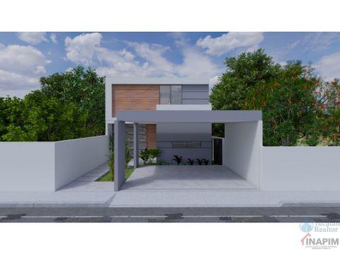 venta de casa en cholul modelo 38