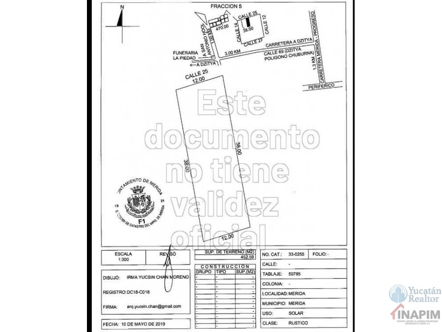 oportunidad venta de terreno dzitya merida yucatan