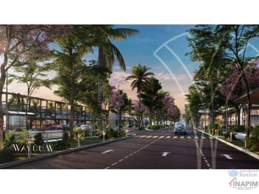 venta lotes residenciales cerca de chicxulub puerto wayuum