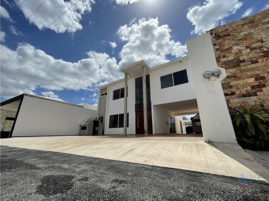 hermosa casa en venta al norte de merida