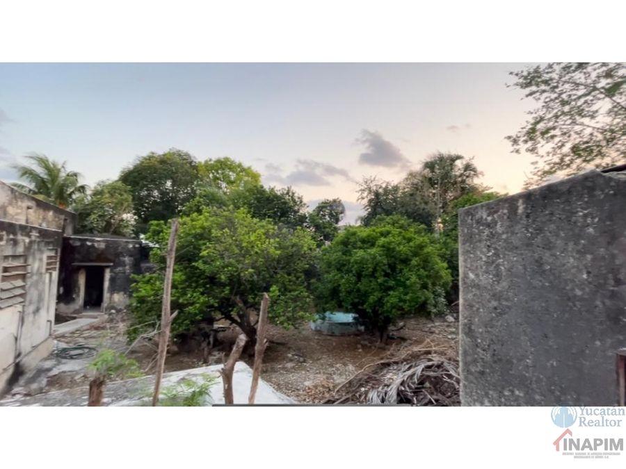amplia propiedad a la venta en colonia centro de merida