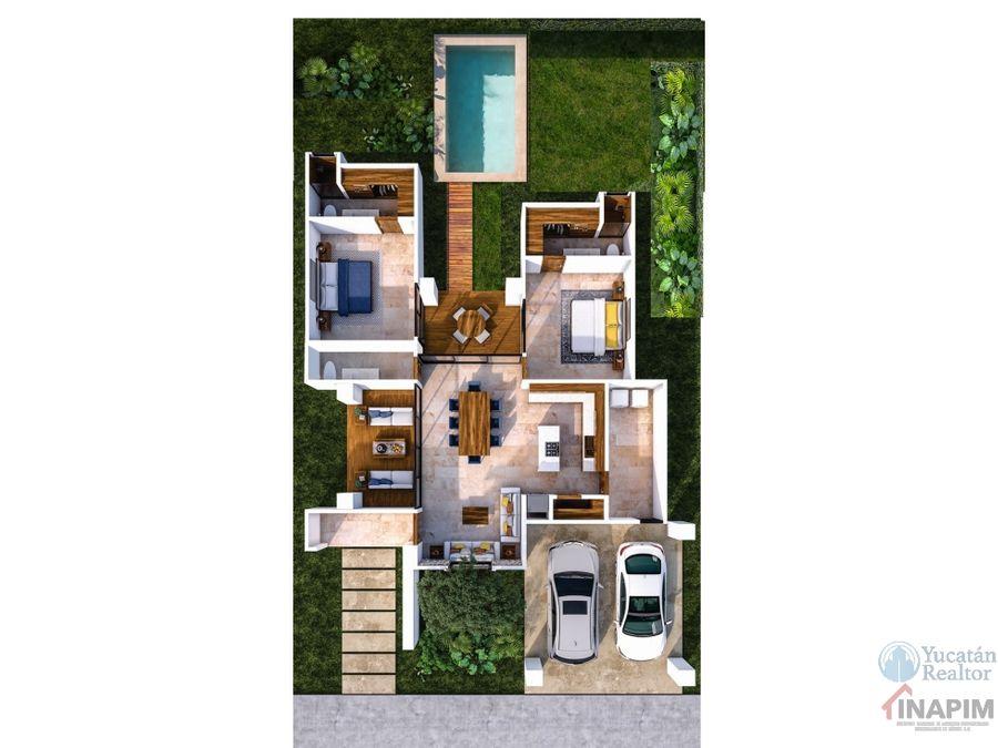 venta casa al norte de merida una planta con alta plusvalia rocio