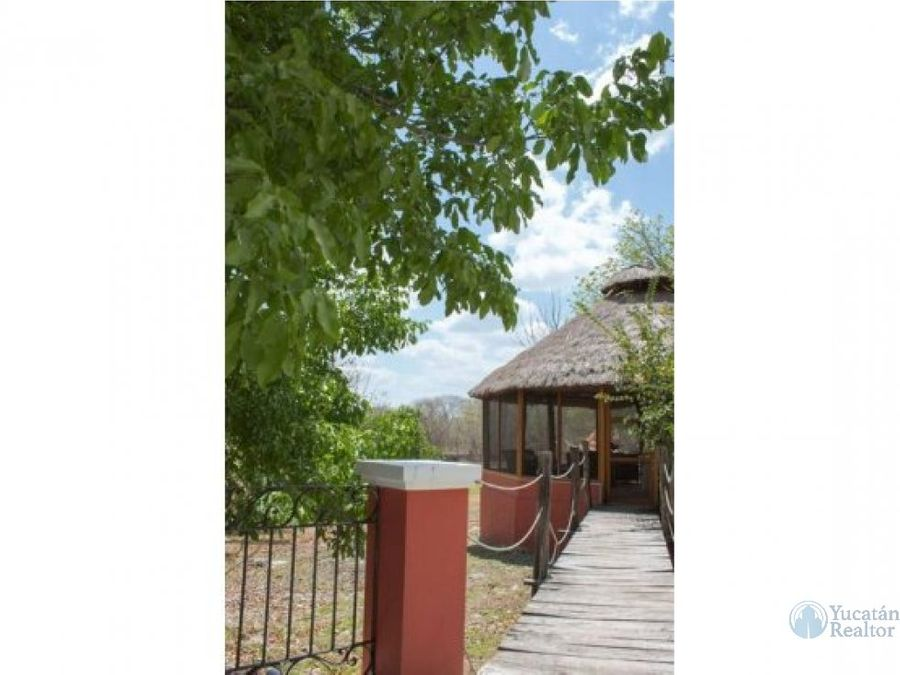 adquiere una hermosa hacienda en tierras yucatecas