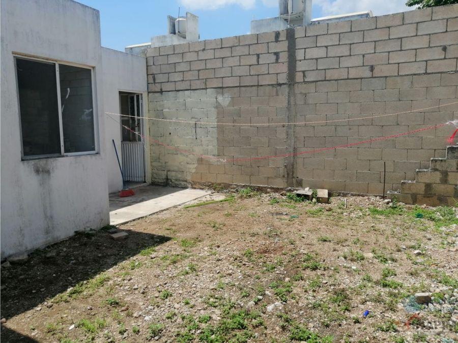 casa en venta en merida caucel de una planta