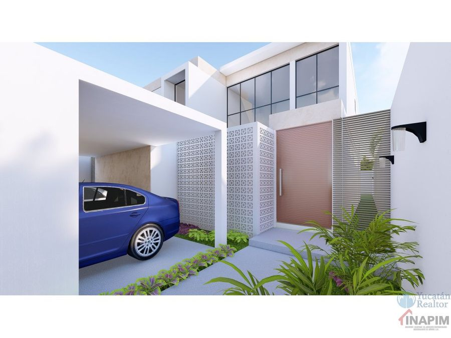 venta casa en merida privada arborea lote 119