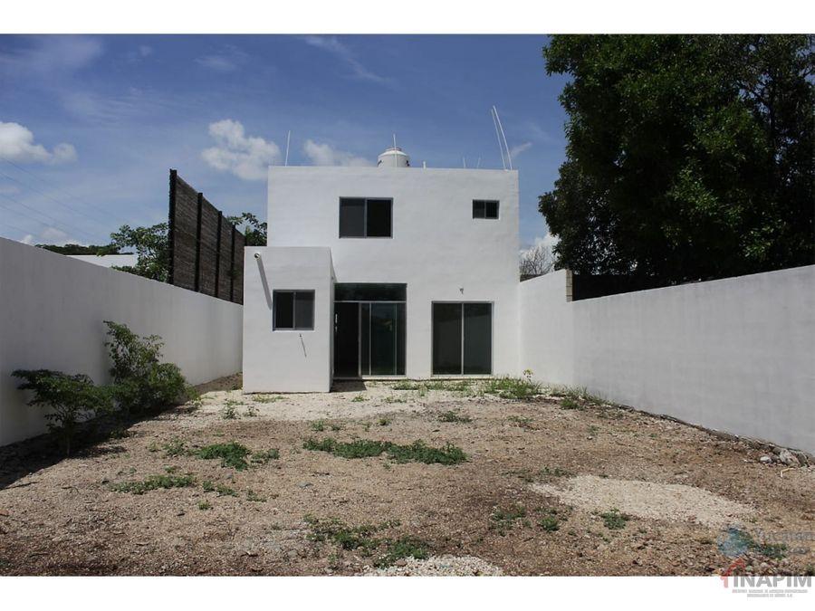 venta de casa en la colonia maya merida