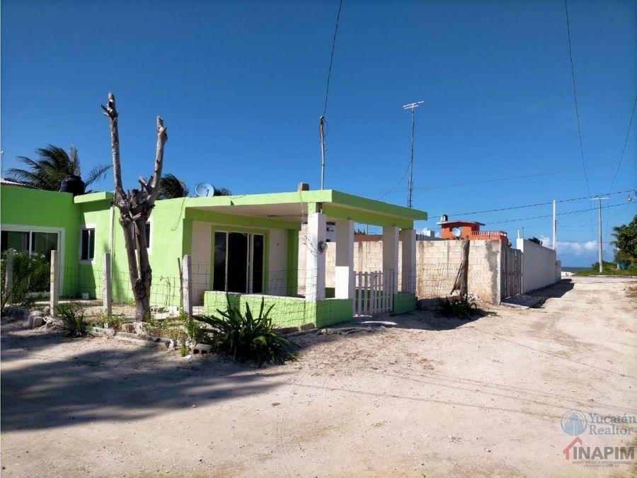 casa en venta en la playa de chabihau