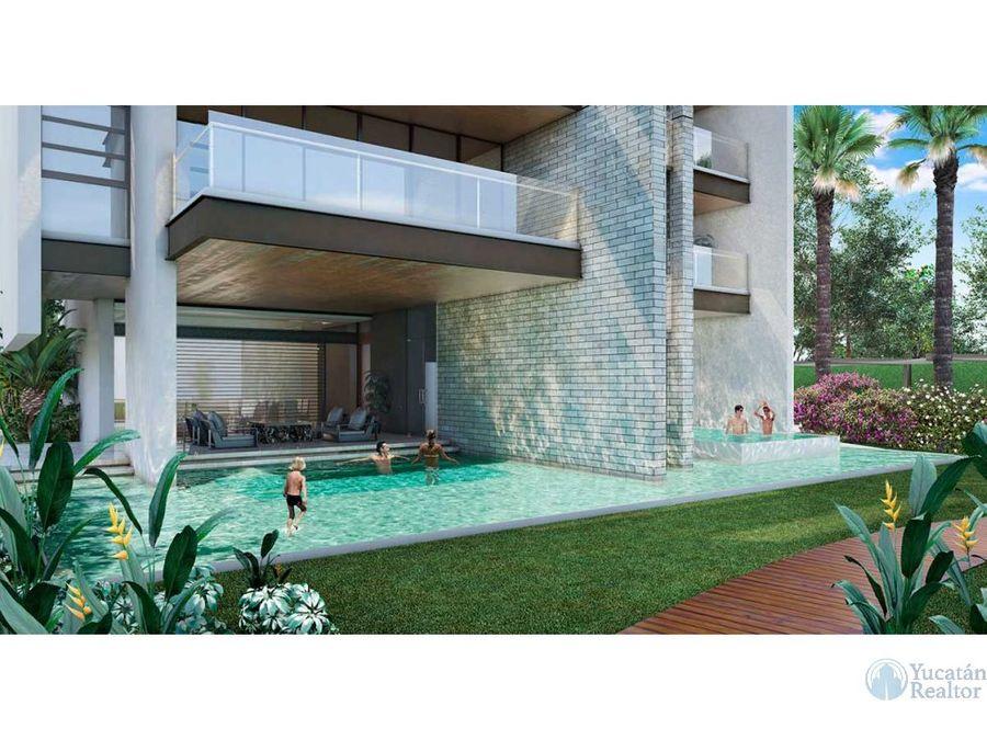 venta departamento en merida parque tuunich residencial