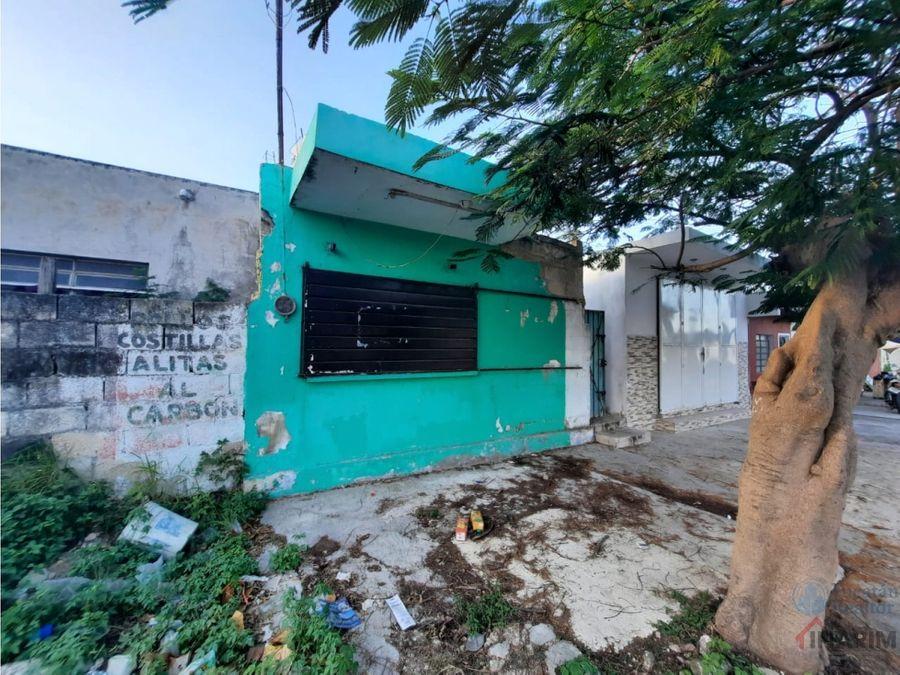 casa 2 habitaciones en esquina en colonia el porvenir