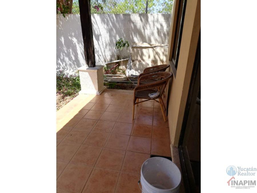 casa en renta de 1 piso en benito juarez norte merida