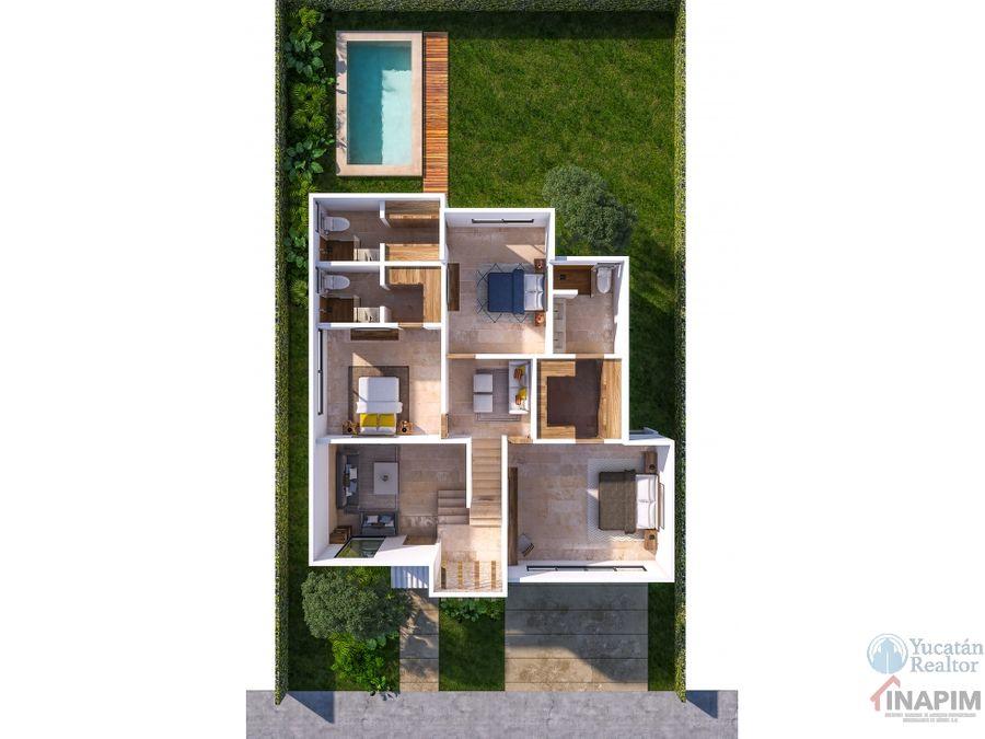 venta casa al norte de merida con al plusvalia rocio country living