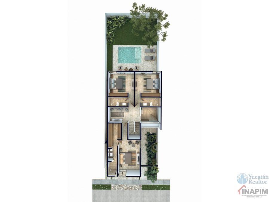 venta casa en merida privada residencial tamora