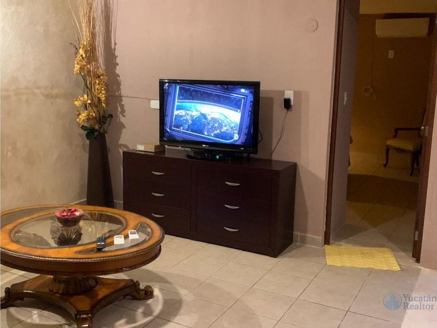 casa en renta por semanas meses centro de merida