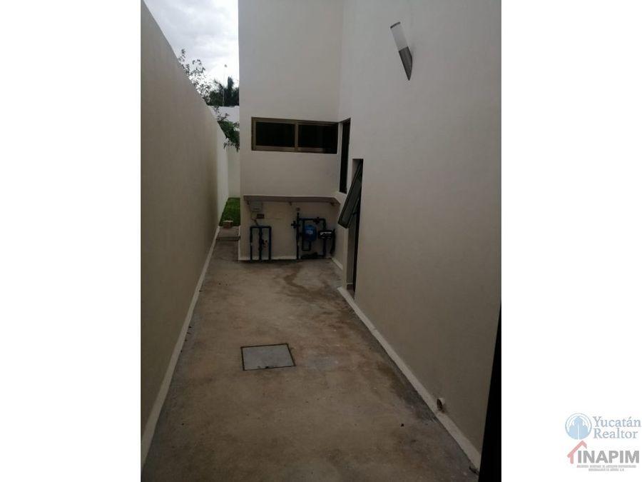 casa en venta en temozon privada