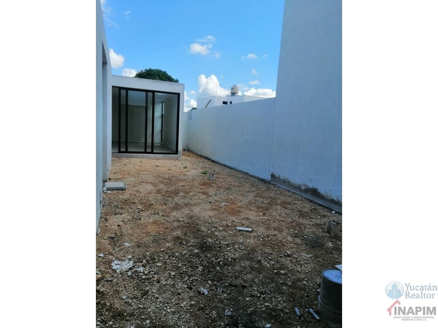 casa en venta en merida de una planta