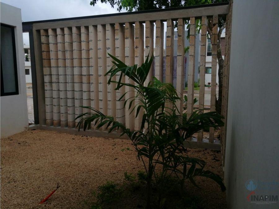 casa en venta en merida zona norte de una planta casa caoba