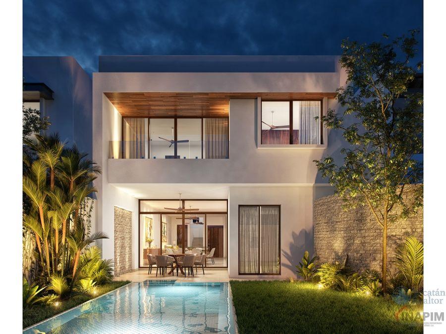 venta casa en merida privada residencial amara