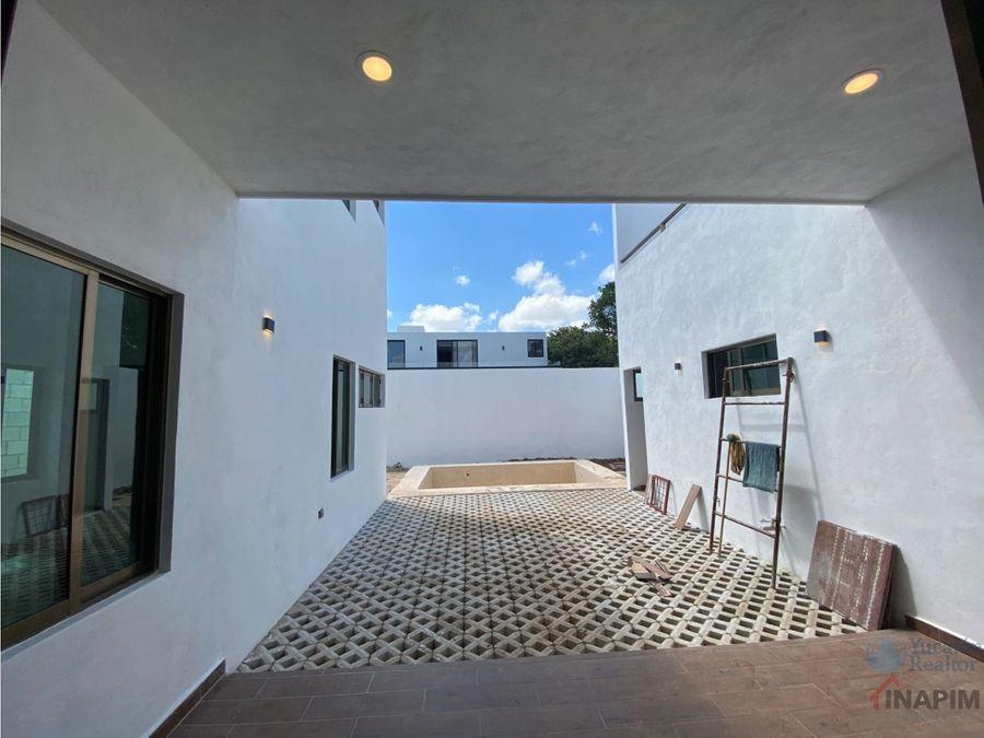 casa en venta en merida en exclusivo residencial parque natura