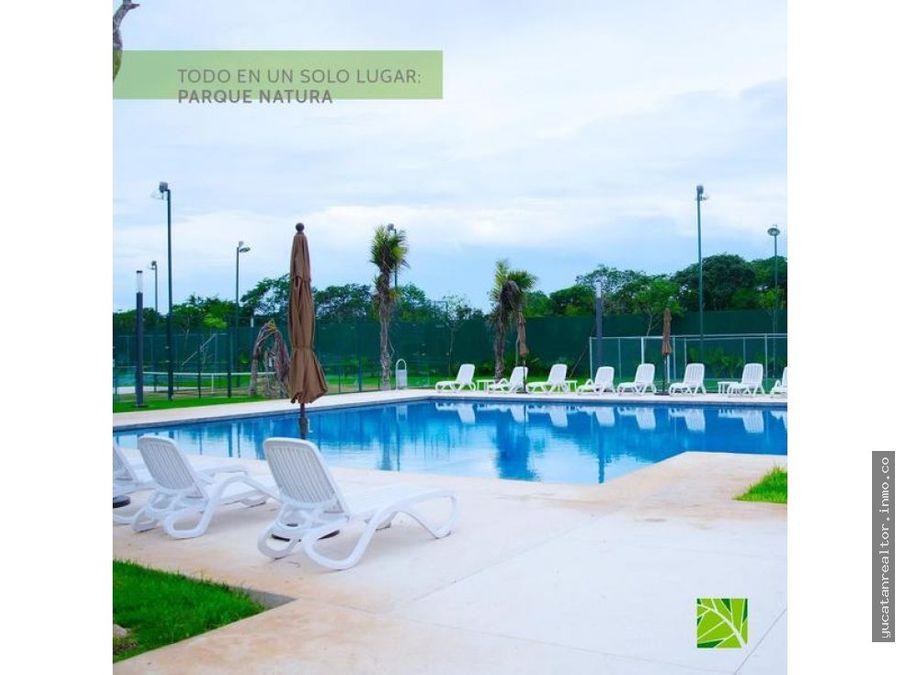 parque natura lotes residenciales en venta