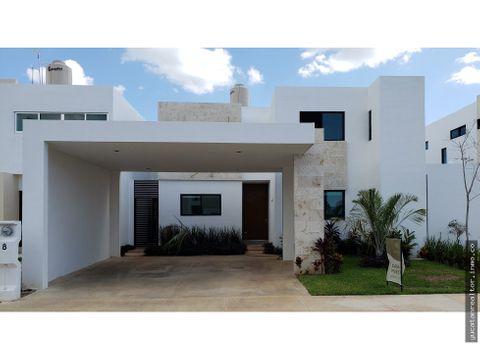 casa en venta en bonita privada en merida yucatan
