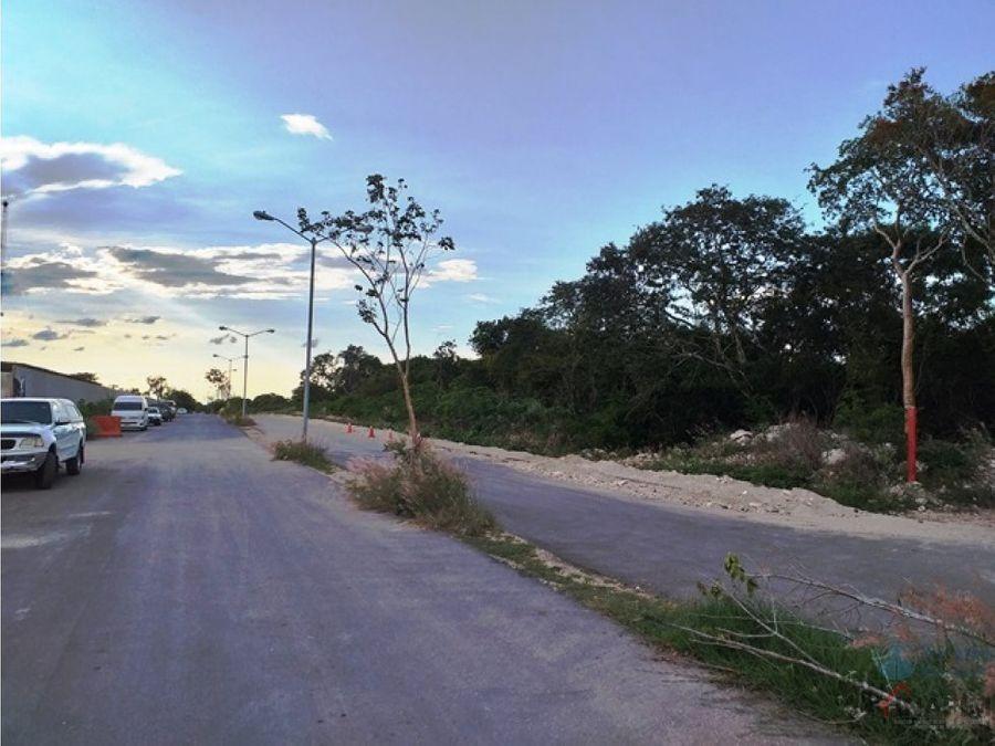 venta de terreno en exclusiva zona cholul
