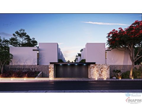 venta townhouses en privada temozon 21