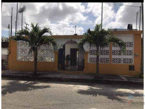 casa en merida a espaldas del estadio de beisbol kukulkan