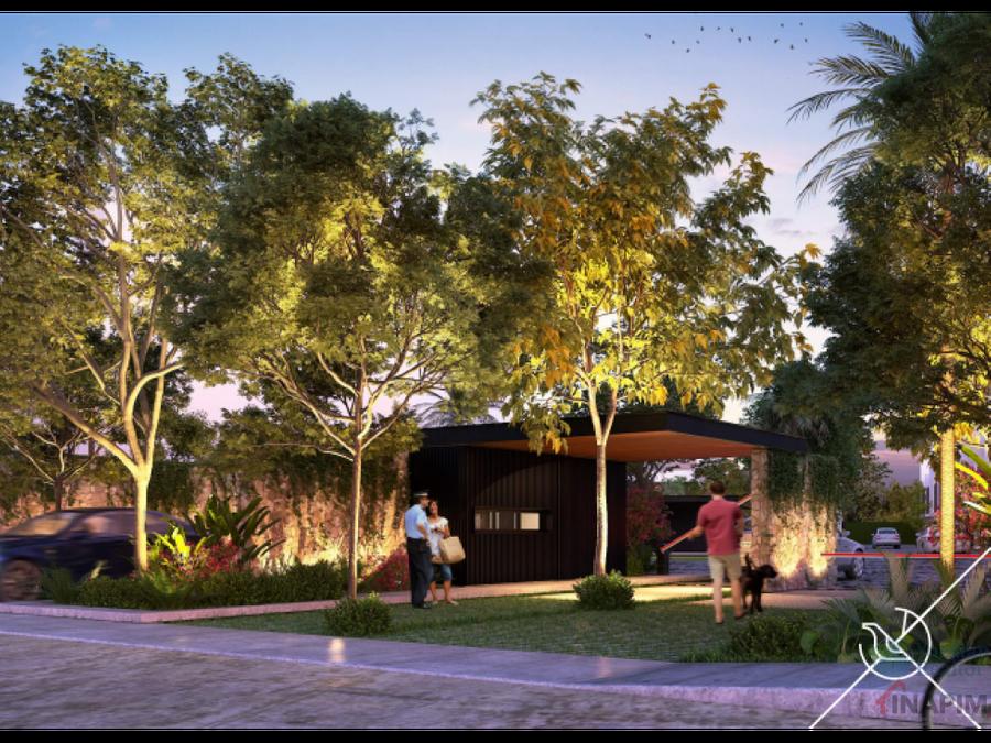 casas residenciales en privada luana