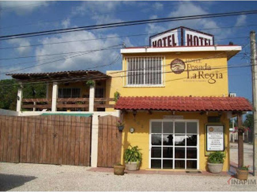 oportunidad hotel posada en venta champoton campeche