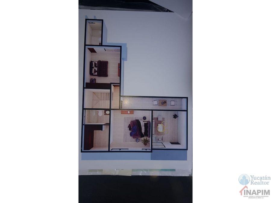 casa en venta en privada conkal de 2 plantas