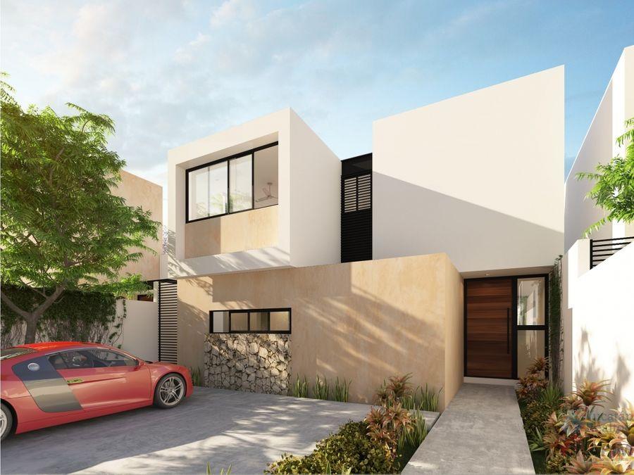 venta casa en merida 3 habitaciones camelia