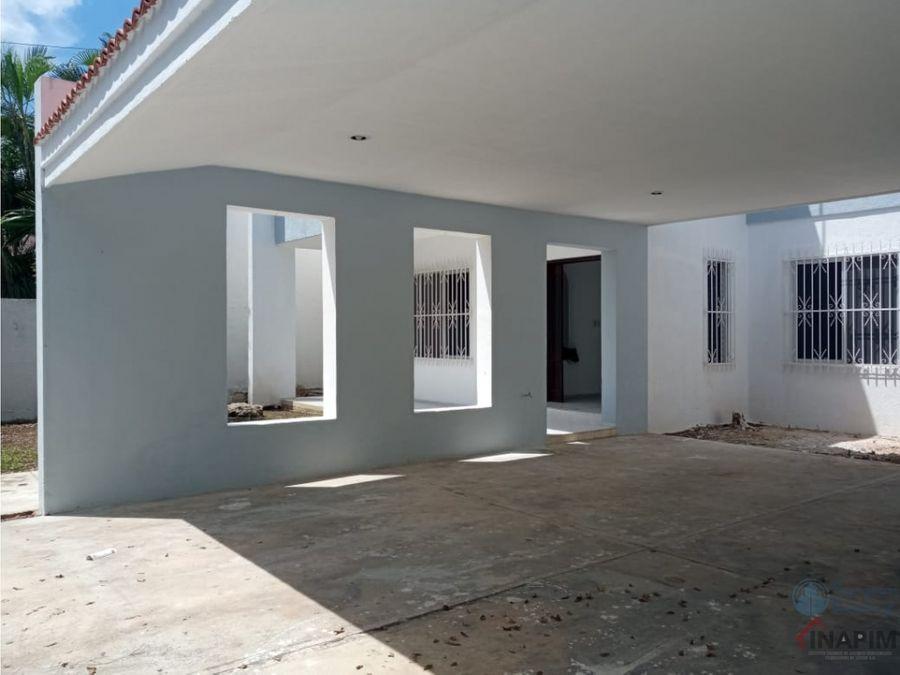 venta casa en merida dentro la ciudad en excelente zona