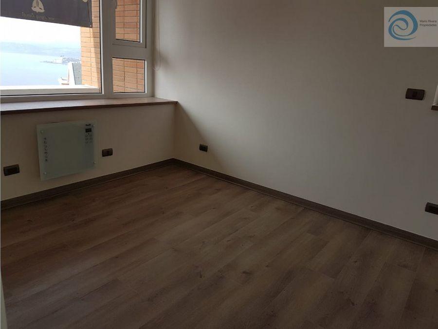departamento 2d2b concon ano corrido sin muebles