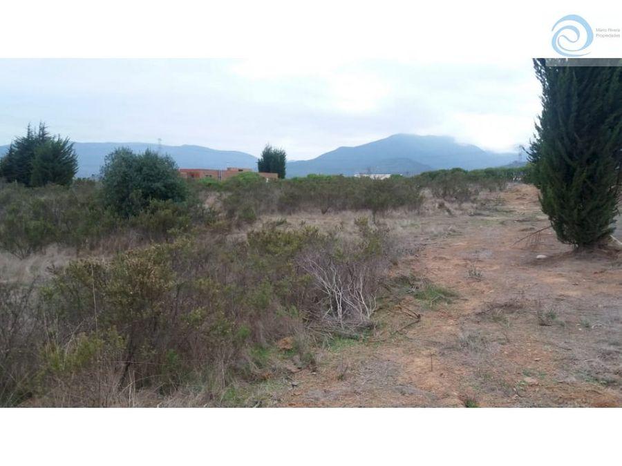 parcela comuna puchuncavi 5000m2 urbanizada
