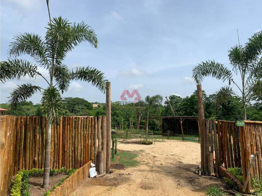 turbaco venta de lote en villas del palmar