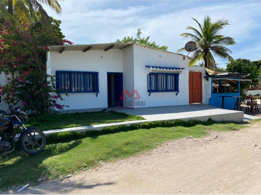 cartagena venta de casa lote en punta arena