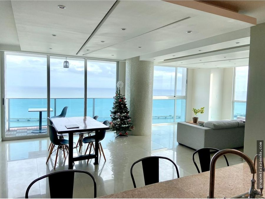 apartamento con vista al mar coco del mar venta