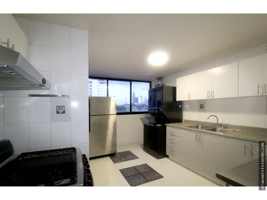 alquiler apartamento en el cangrejo linea blanca