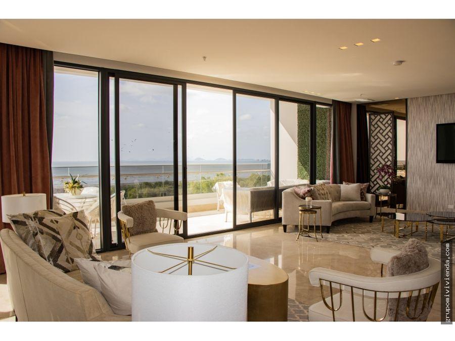 venta espectacular apartamento en costa del este a estrenar