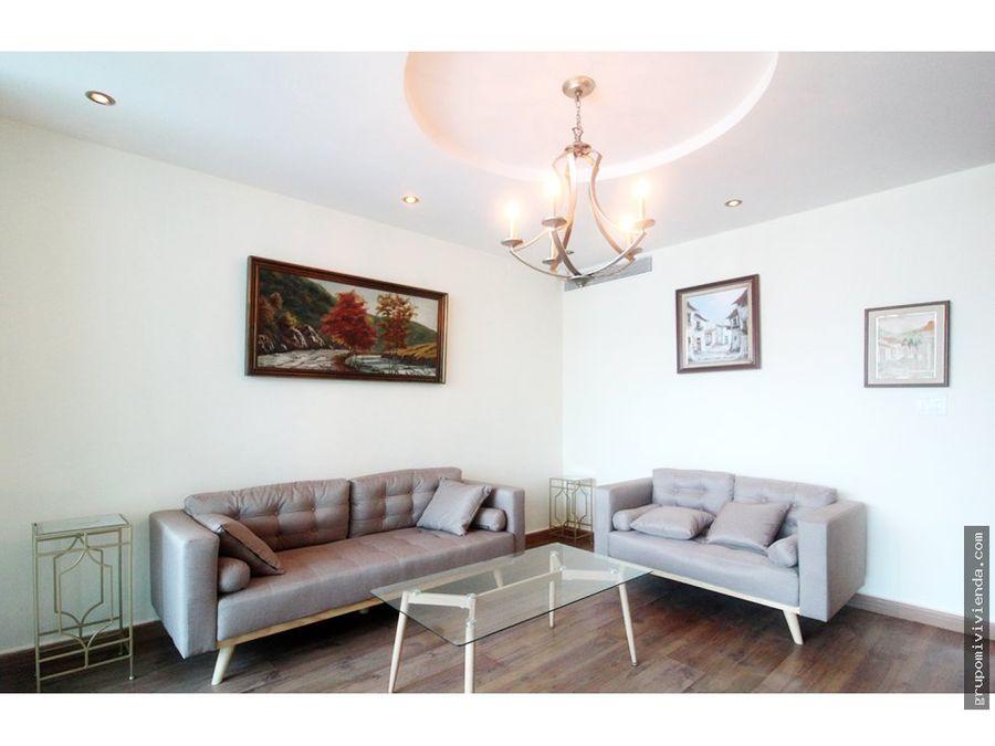 alquiler apartamento amueblado en san francisco